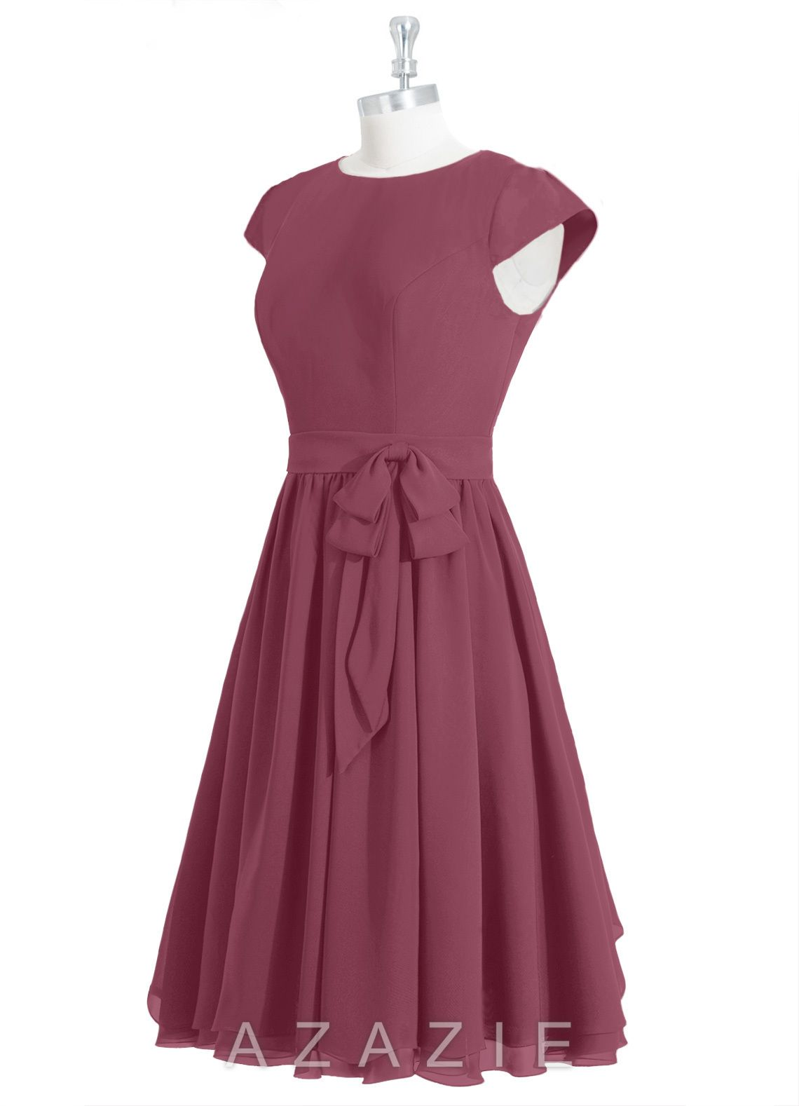 3265a97202 Azazie Ingrid Bridesmaid Dress - Mulberry