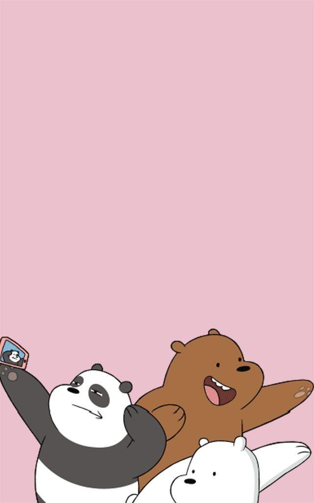 Gambar Kartun Oleh Lalitvadee K Pada We Bare Bears Ilustrasi