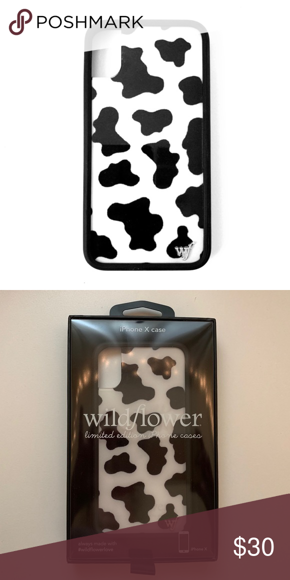 new product 10c76 ec185 BRAND NEW Wildflower iPhone X/XS Moo Moo case Brand new in box ...