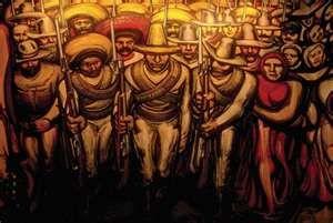 Muralismo En Mexico David Alfaro Siqueiros Industrialized
