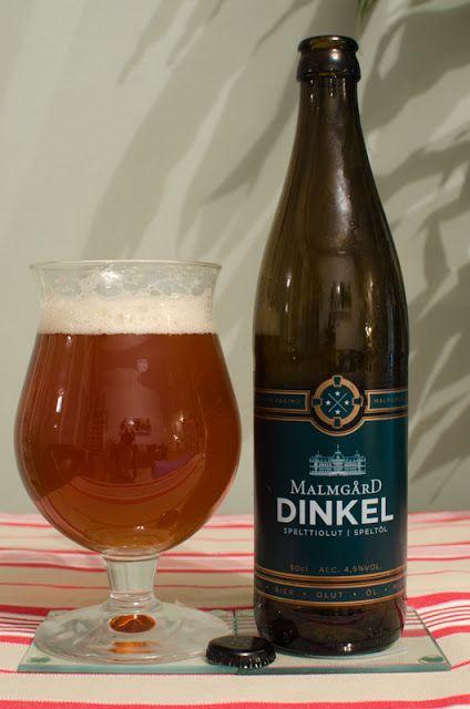 Malmgårdin Panimo Dinkel (spelttiolut) 4,5% pullo (sama kuin Huvilan Malmgård Dinkel)