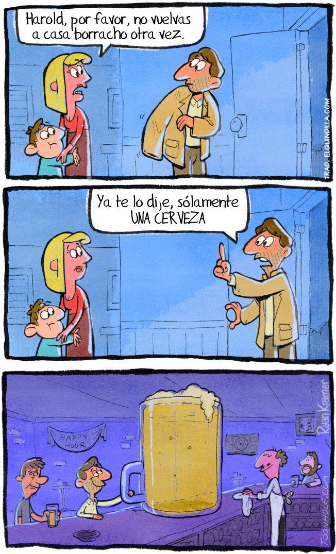 Solamente Una Cerveza Funny Comics Funny Comic Strips Funny Meme Pictures