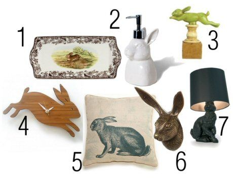 Personal Shopper Grown Up Bunny Rabbit Decor For Stephanie