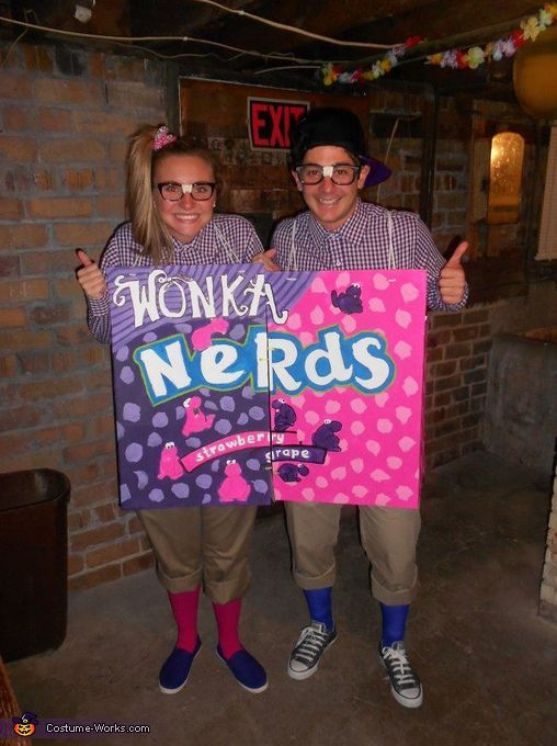 Here are some creative costume ideas that your kids will love. These homemade costumes from cardboard boxes are easy to make cheap and fun. & Two Nerds - Halloween Costume Contest at Costume-Works.com | Nerd ...