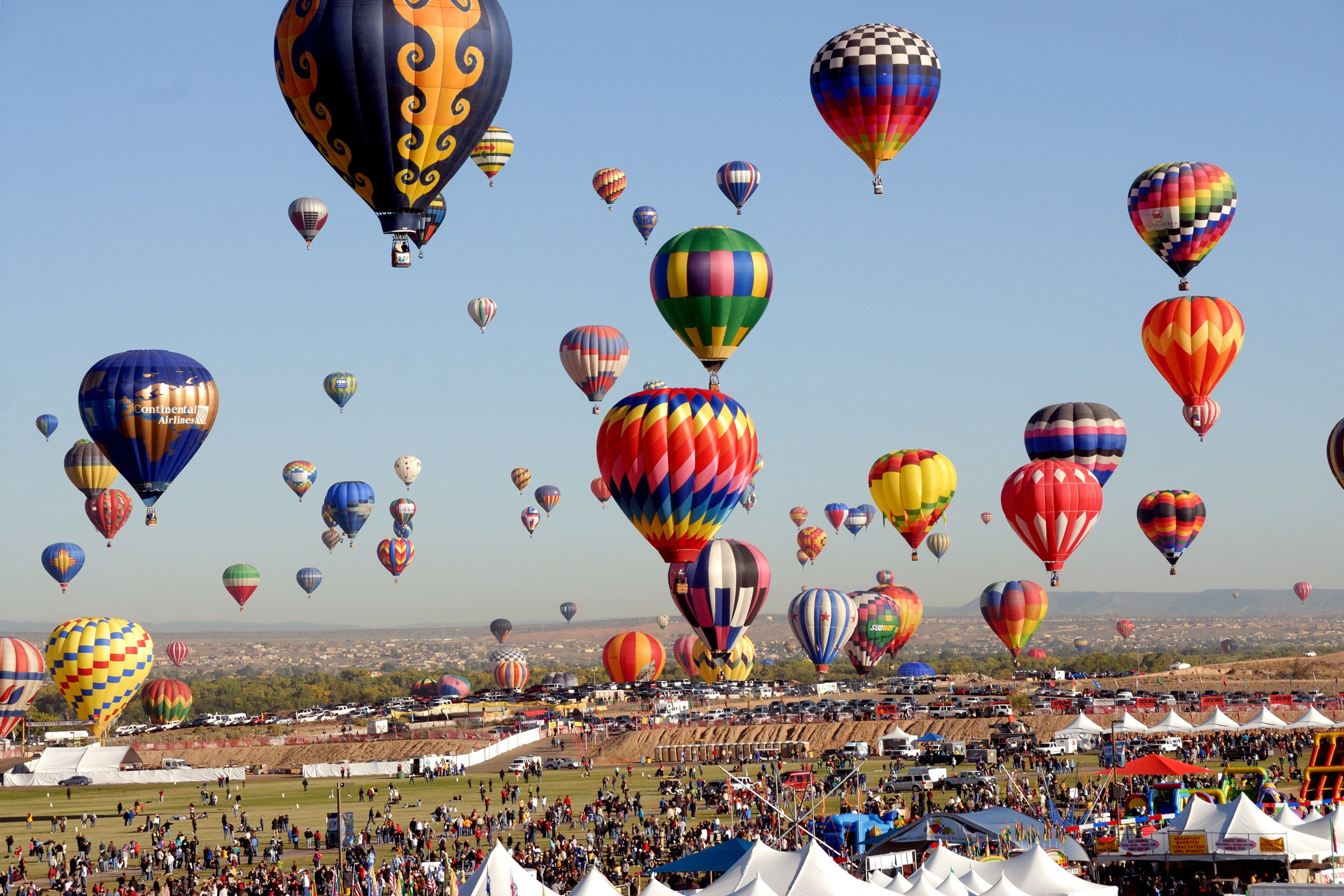 Albuquerque International Balloon Fiesta Our Traveling