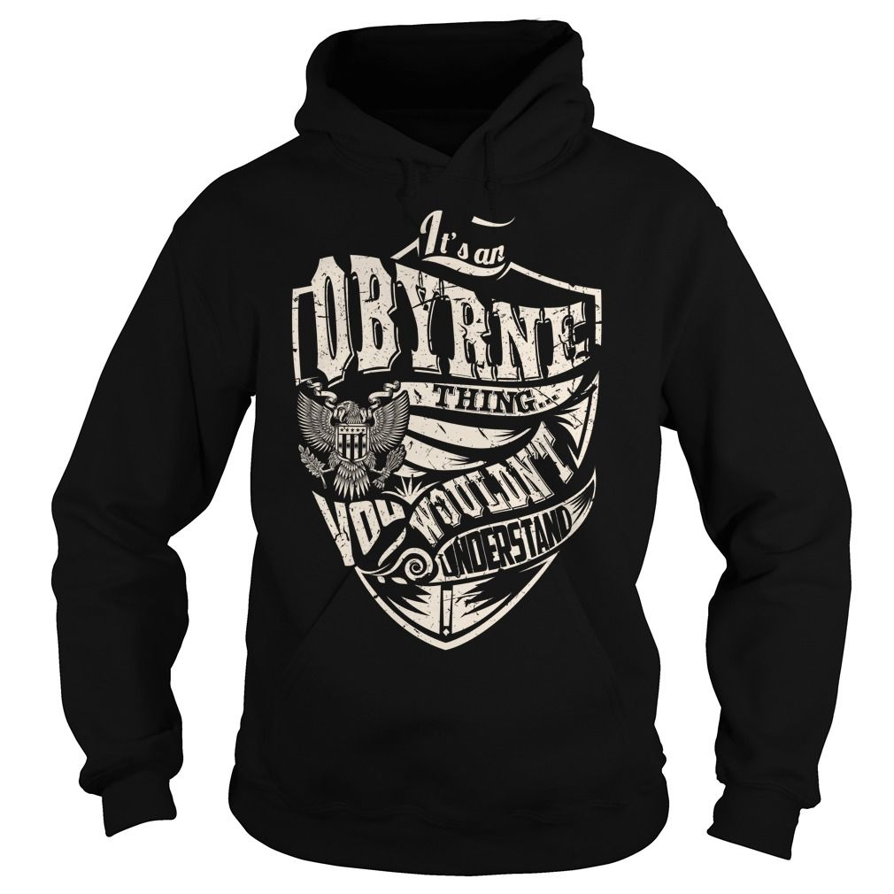 Its an OBYRNE Thing (Eagle) - Last Name, Surname T-Shirt