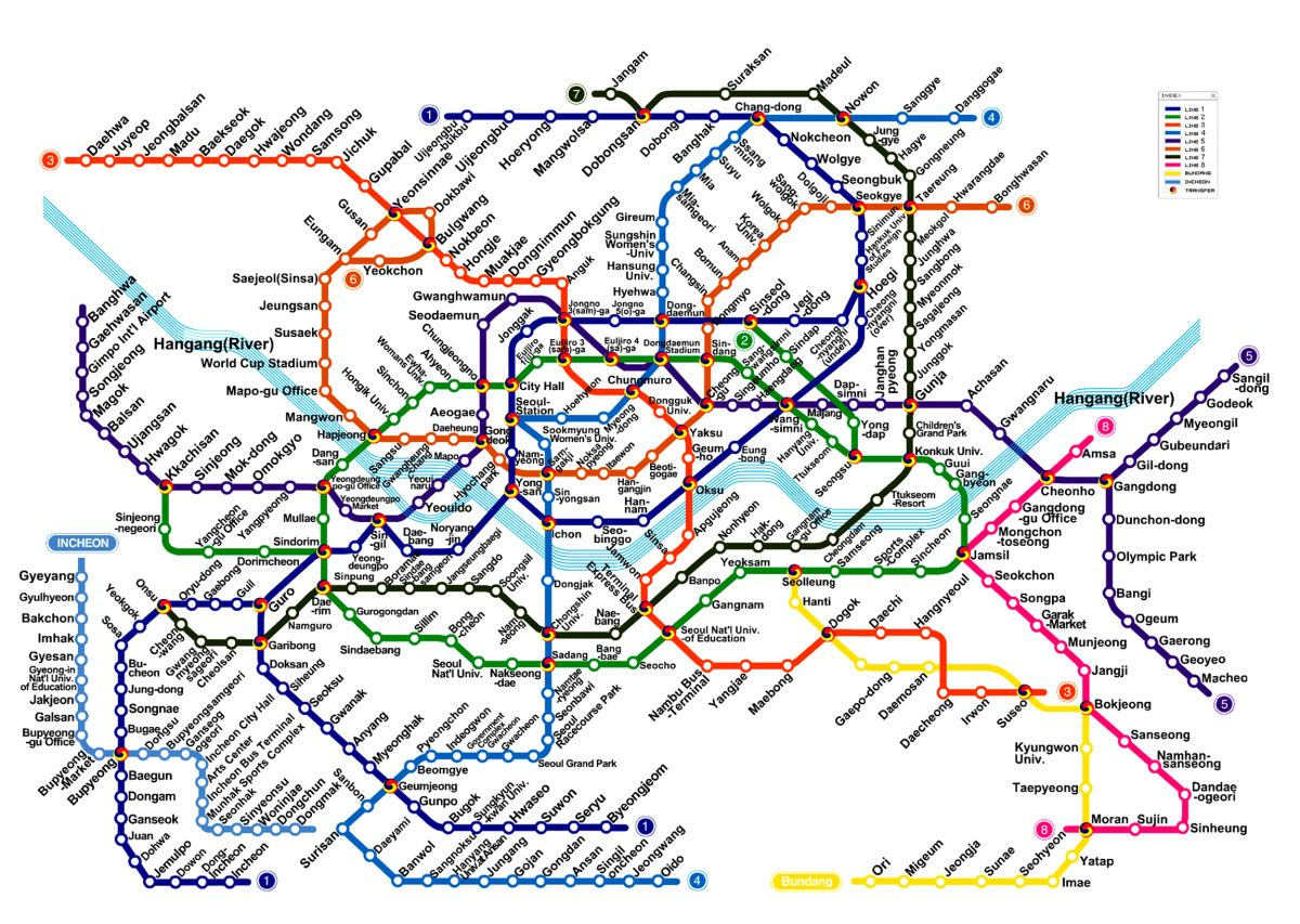Seoul South Korea Subway Map.10 Things To Know Upon Arrival In Korea Visit Seoul Korea Map Subway Map