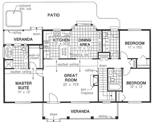 simple house designs floor plan - Home Design Floor Plans
