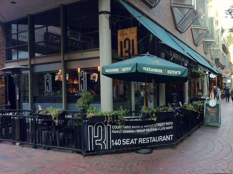 131 Water Kitchen Bar Kitchen Bar Restaurant Water