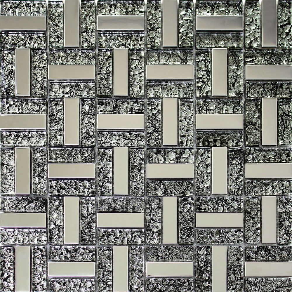 Find more wallpapers information about euro style black foil silver