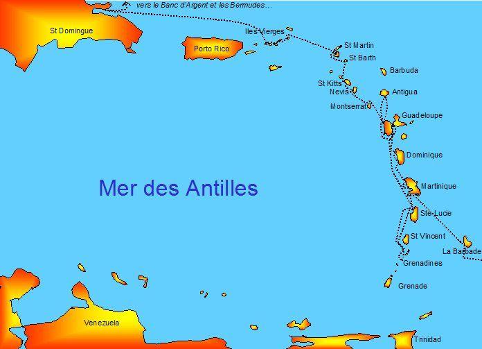 carte du monde martinique Carte Antilles (avec images) | Carte, St kitts, Mer des antilles