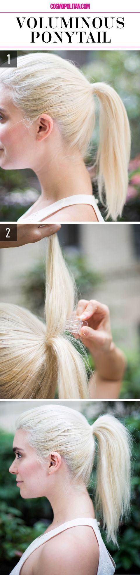 supereasy hairstyles for lazy girls who canut even voluminous