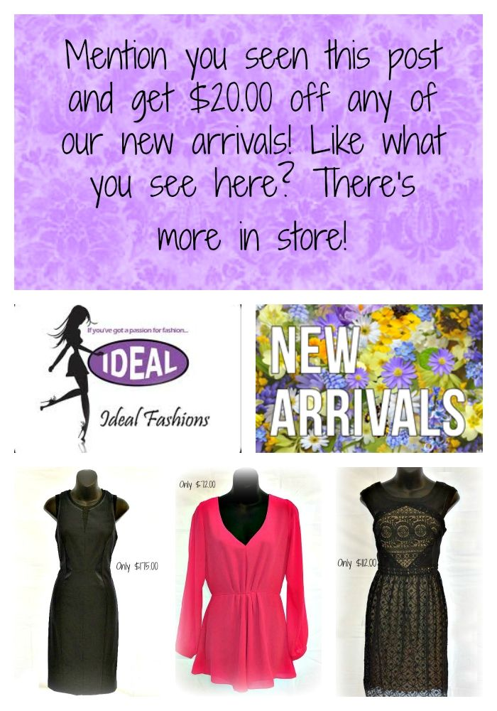 So many great things, now in store!!! #newarrivals #getdressedup #idealfashions