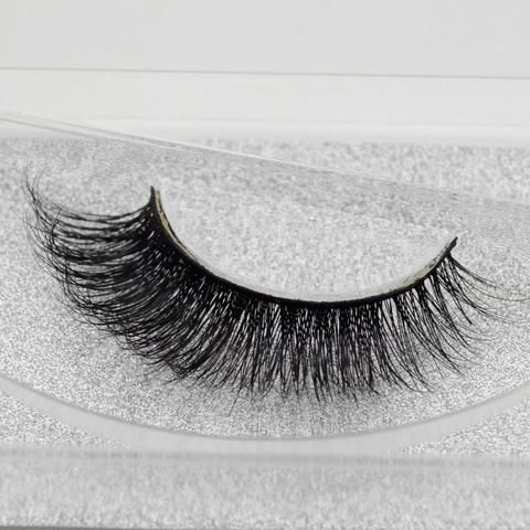 6775e097281 visofree Fashion 3D Mink Lashes False Eyelashes Mink Thick Fake Eyelashes  100% Handmade Creative Arts Makeup Extension A19