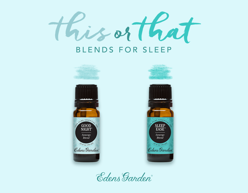 This or That Essential Oil Blends for Sleep Edens