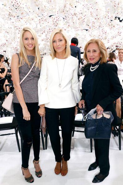 2aa349f66 Princess Marie Chantal of Greece standing between her daughter ...