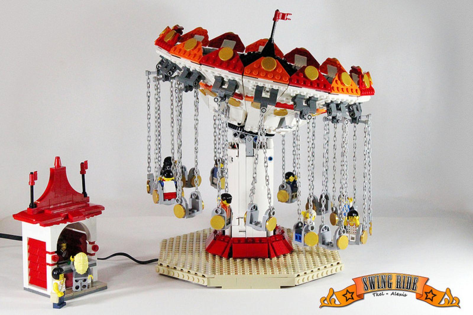 Theme 0937Lego Lego® Park Con Luna La Moc Al Tutti TlK5uF31cJ