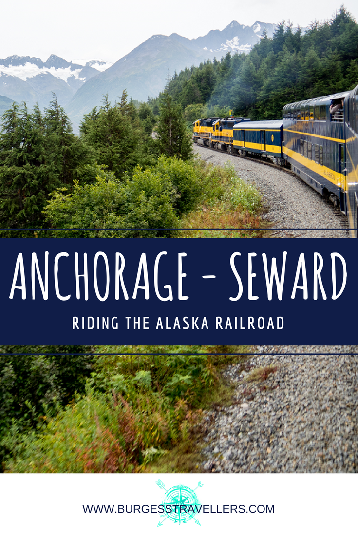 If you're looking to get out of the city, the Alaska Railroad has plenty of great options for a day trip.   #alaska #train #travelblogger #traveltips #travelphotography #glacier #mountains #rainforest