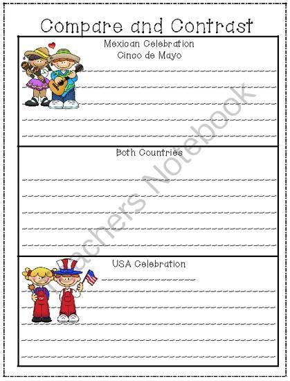 Cinco de Mayo language arts activities