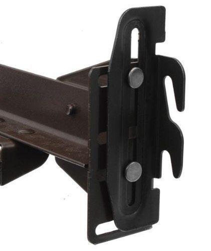 Conversion Bracket Adapter Plates For Bed Frame To Headbo Https Www Amazon Com Dp B071ljzh6c Ref Cm Sw R Pi Metal Bed Frame Bed Frame Parts Bed Frame Sets