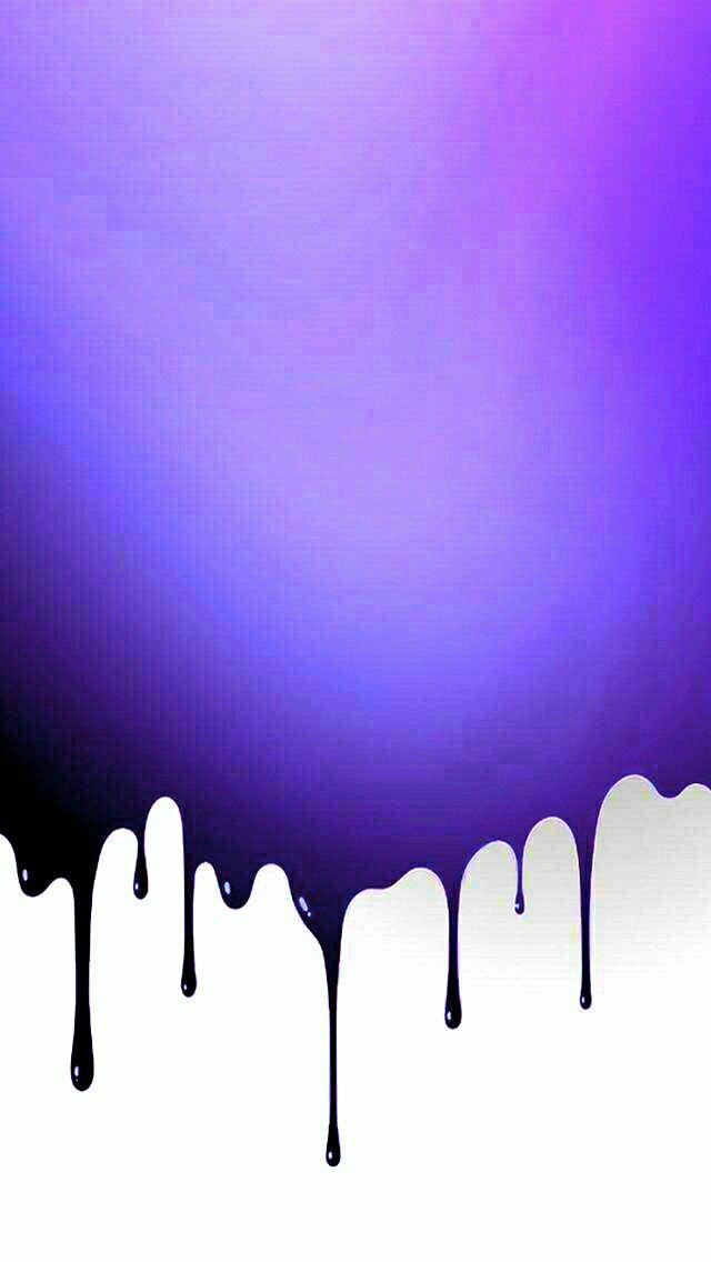 Purple Drip Background Purple Wallpaper Drip Art Drip Painting
