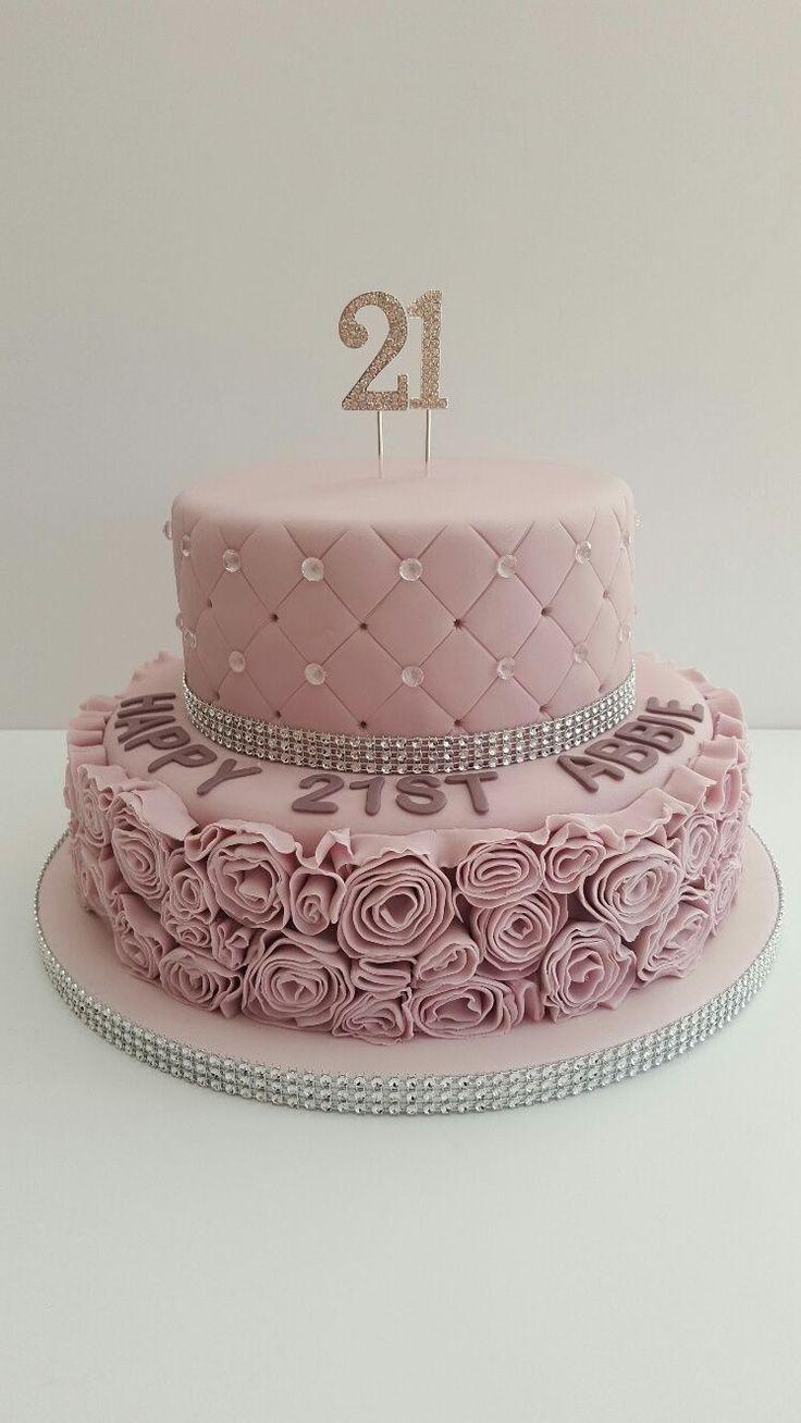 Pretty Photo Of The 21st Birthday Cake P T Geburtstagstorte