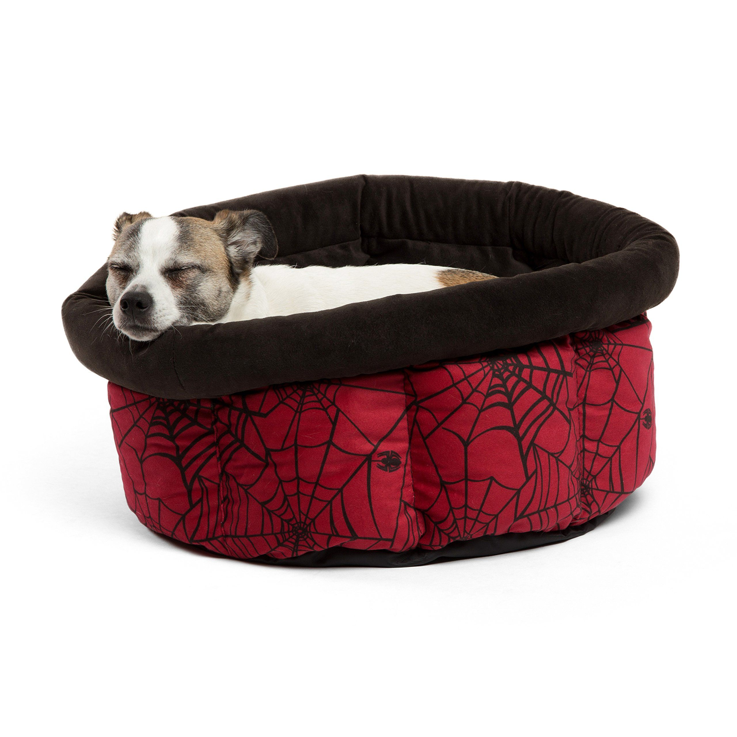 Marvel Cuddle Cup In Spiderman Spidey Web Dog Bed Cat Bed Have A Look At This Excellent Item This Is An Affiliate Link Dogbeds Cat Bed Dog Bed Dog Cat