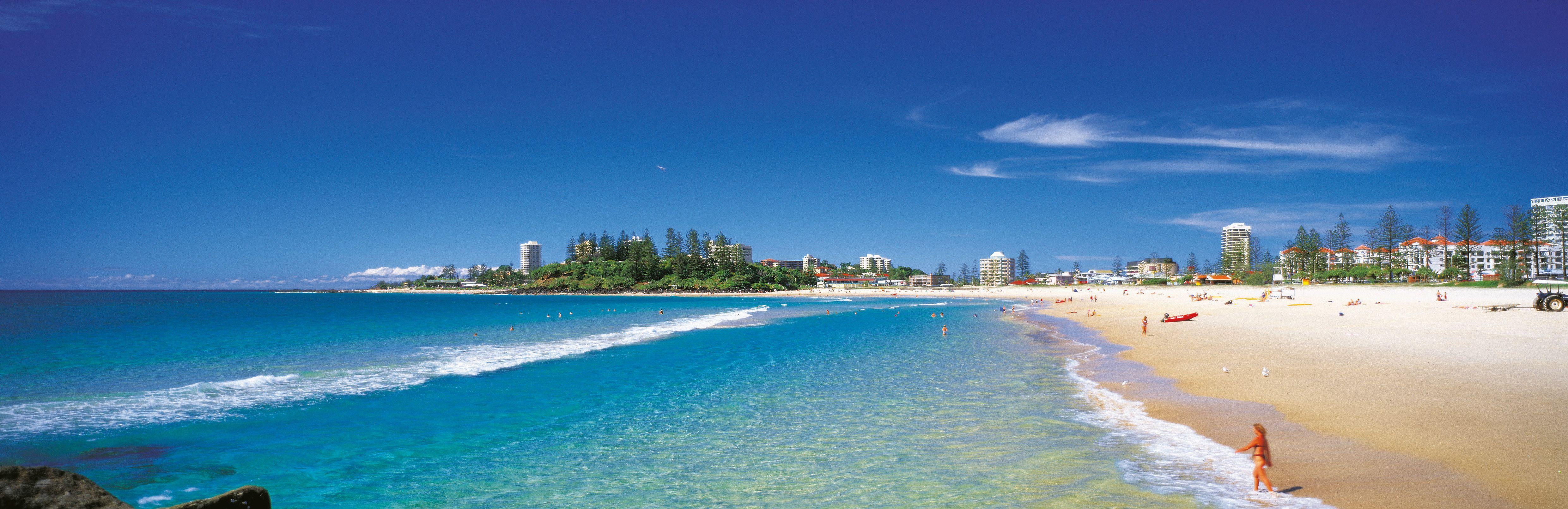 to Queensland, Australia Beach scenery, Beach
