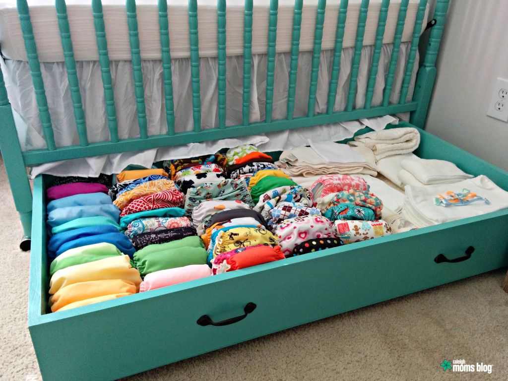 Awesome DIY Nursery: Build A Trundle Drawer For Extra Storage In A Kidu0027s Bedroom Or Baby  Nursery