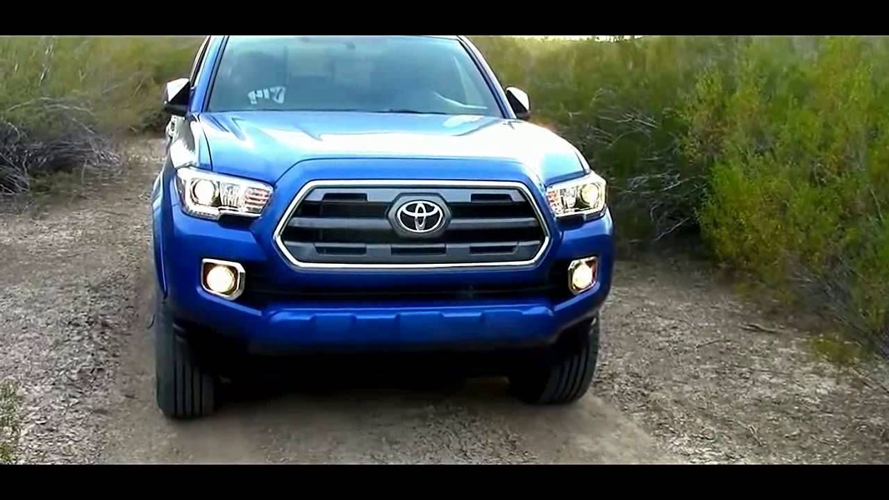 2016 Toyota TRD Sport Double Cab 4x4