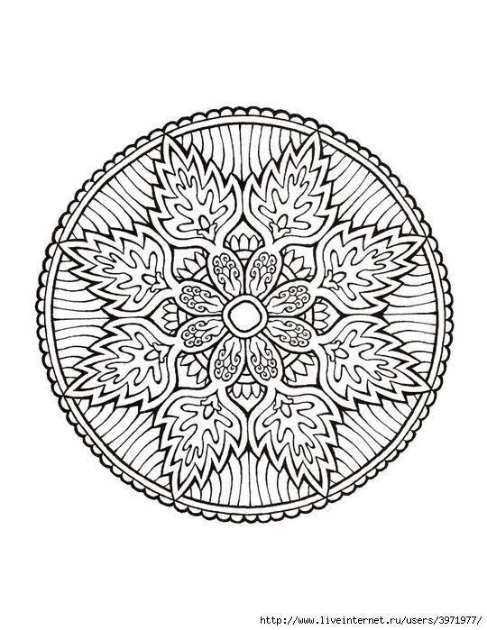 Pin de karecita prics@ en Mandalas | Pinterest | Mandalas, Mandalas ...