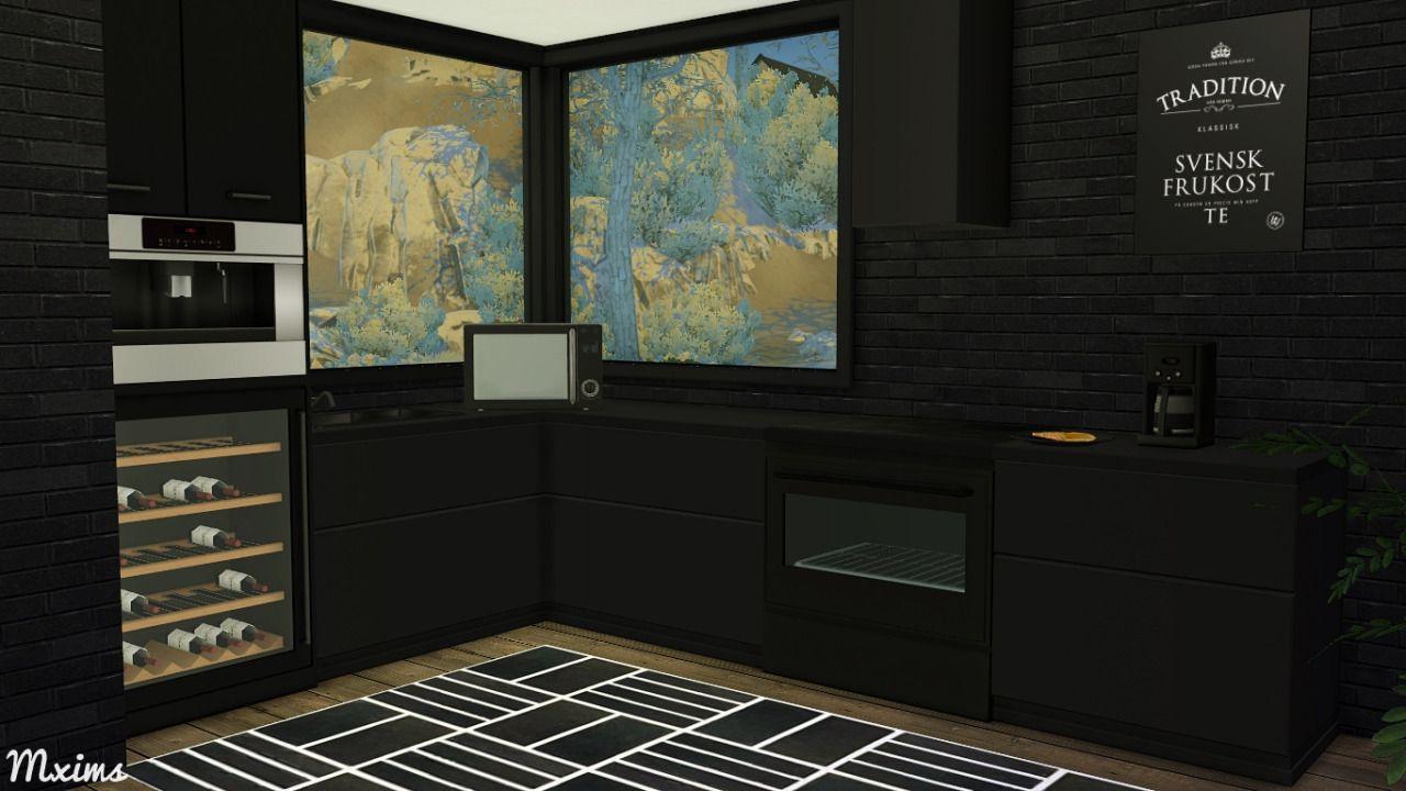 Sims 3 Kitchen 3t4 Hinji Kitchen Includingstove 7 Swatchescounter 7