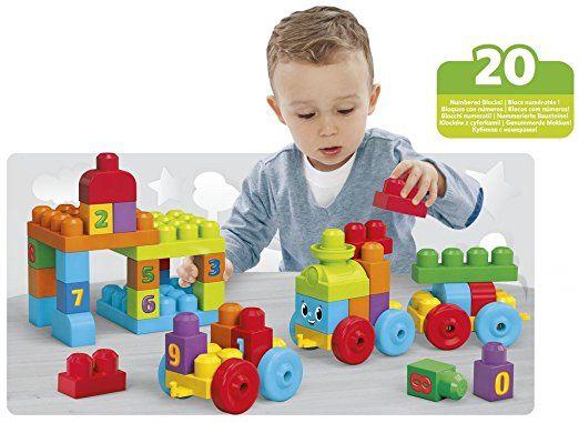 Amazon com: Mega Bloks 1-2-3 Learning Train: Toys & Games
