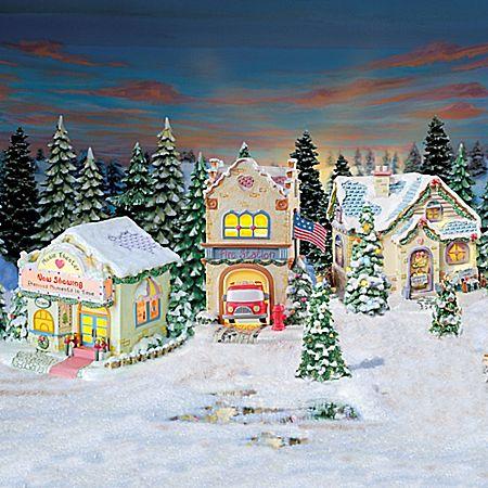 Precious Moments Christmas Village Collection
