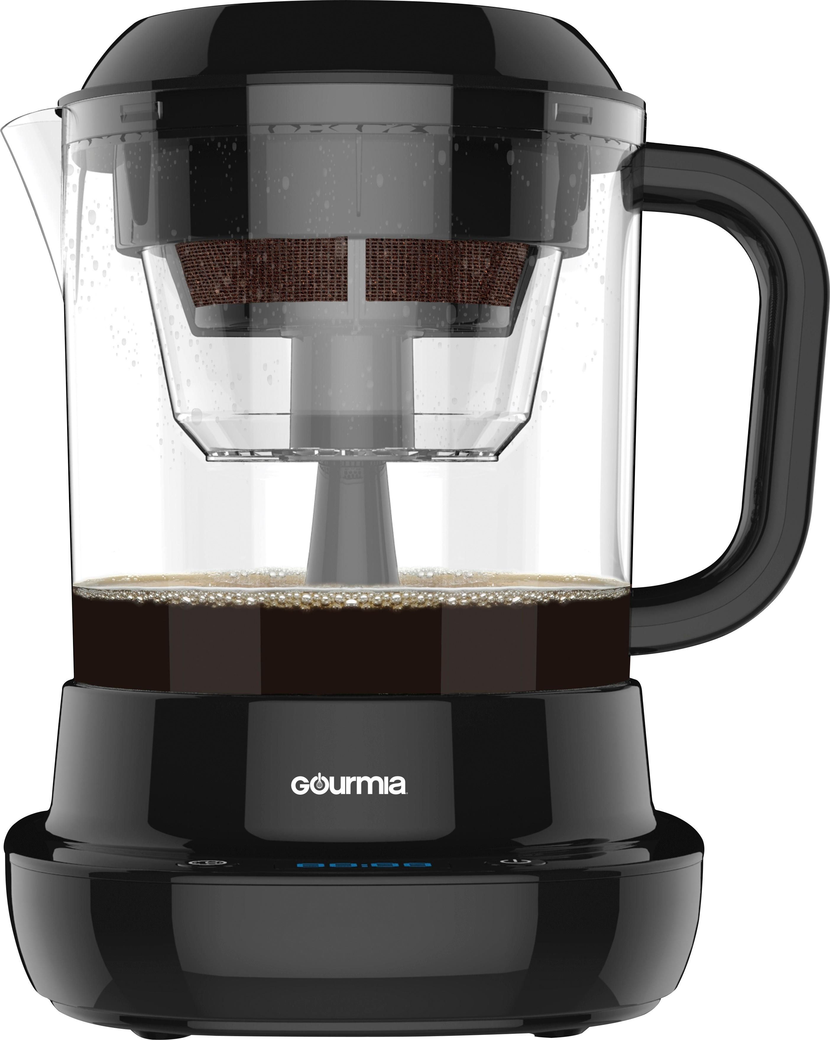 Shop Gourmia Cold Brew Coffee Maker Black at Best Buy