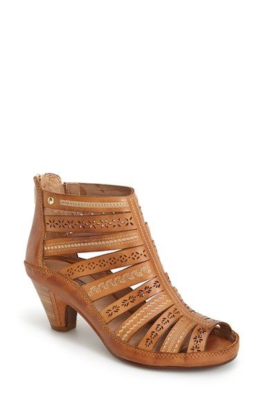 dfb40bb39cc PIKOLINOS  Java  Leather Gladiator Sandal leather brandy