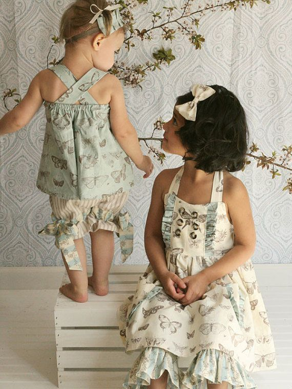 Ginger top and dress sewing pattern from Violette Field Threads - sizes 12m - 9/10