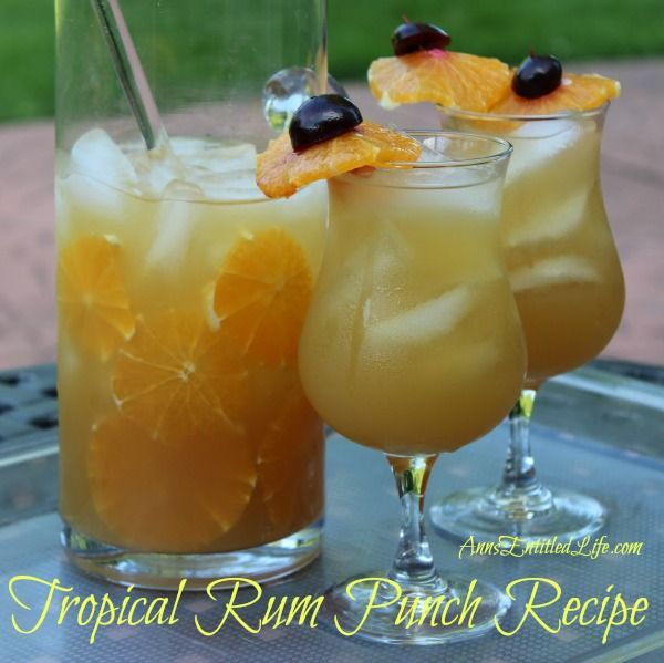 Tropical Rum Punch Recipe This Tropical Rum Punch Recipe Is