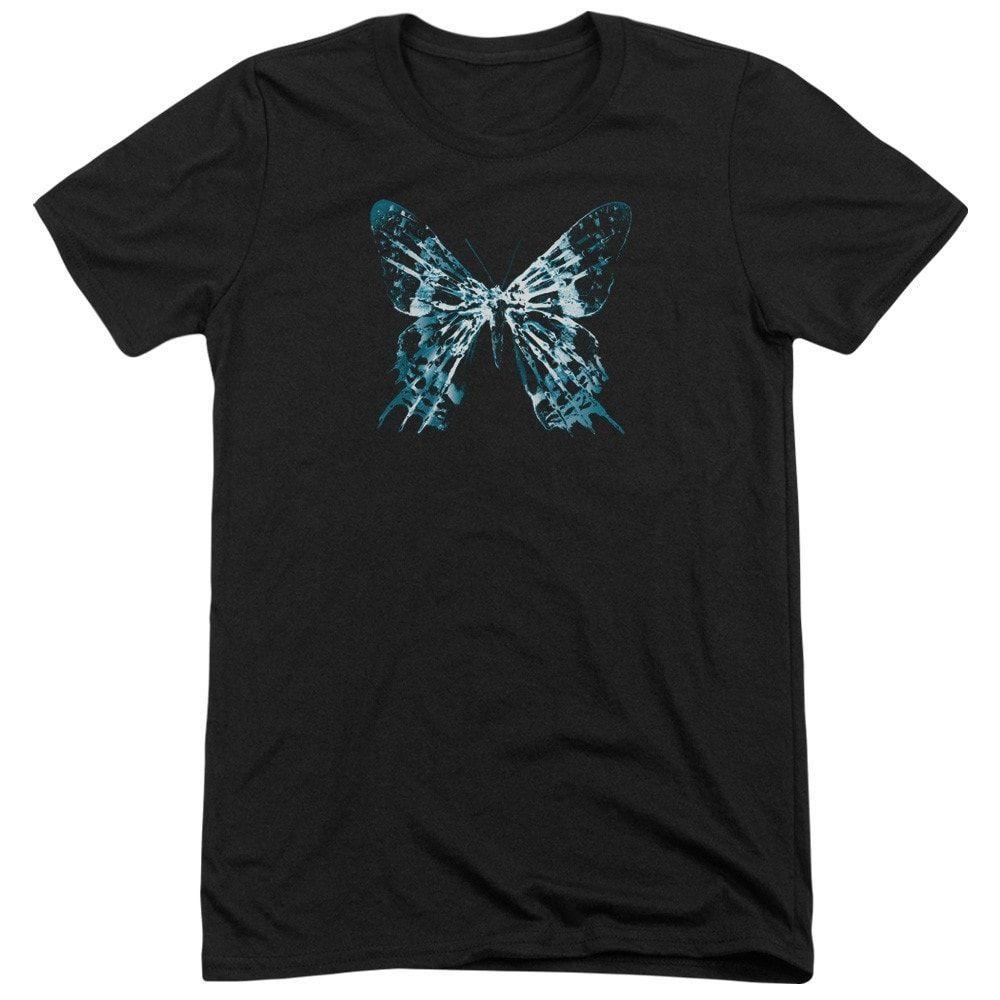 Fringe Butterfly Glyph Adult Tri-Blend T-Shirt