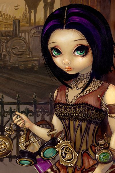 Poe by Jasmine Becket-Griffith | DecalGirl