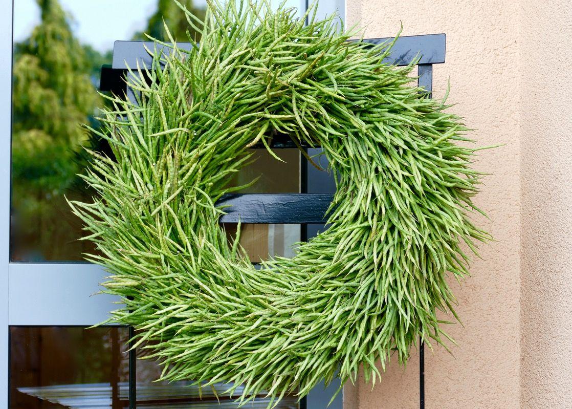 Photo of Rapeseed wreath tied – Karin Urban – NaturalSTyle