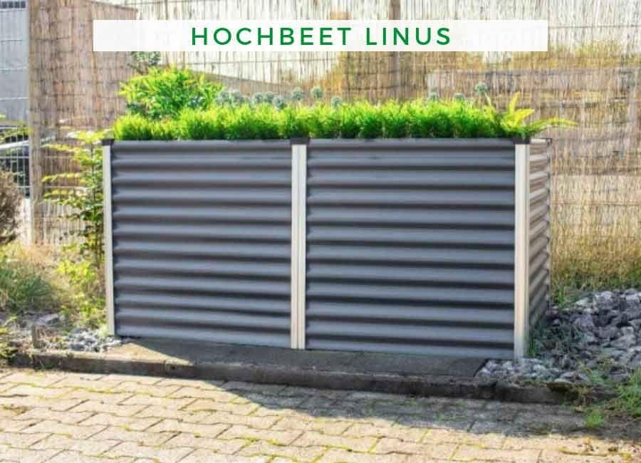 Hochbeet Linus 630 Granit Hochbeet Gartengestaltung Hochbeet Bepflanzen