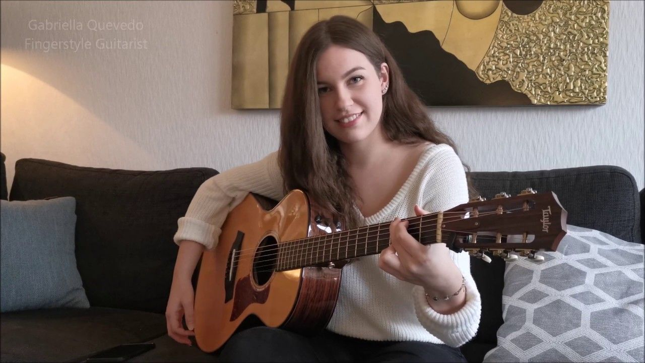 Abba The Winner Takes It All Gabriella Quevedo Abba Music Songs Guitar Girl