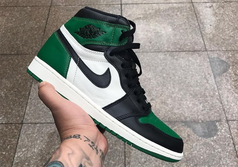 AIR JORDAN 1 RETRO HIGH OG PINE GREEN TOE SIZE 11  fashion  clothing  shoes   accessories  mensshoes  athleticshoes  ad (ebay link) b5f876274