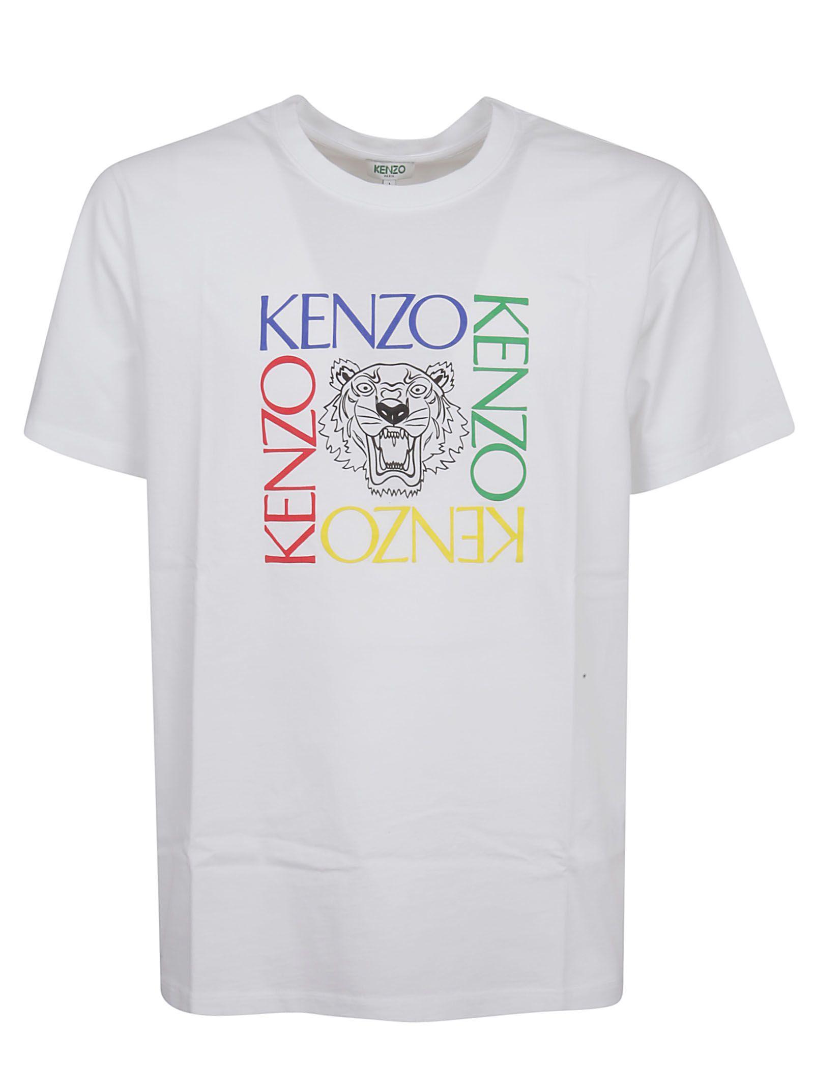 e3040625eb KENZO TIGER SQUARE T-SHIRT. #kenzo #cloth | Kenzo in 2019 | Kenzo ...