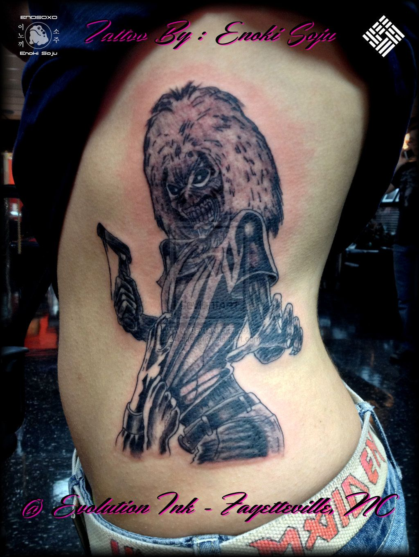 Megadeth Killers Album Cover Tattoo By Enoki Soju by enokisoju.deviantart.com on @deviantART