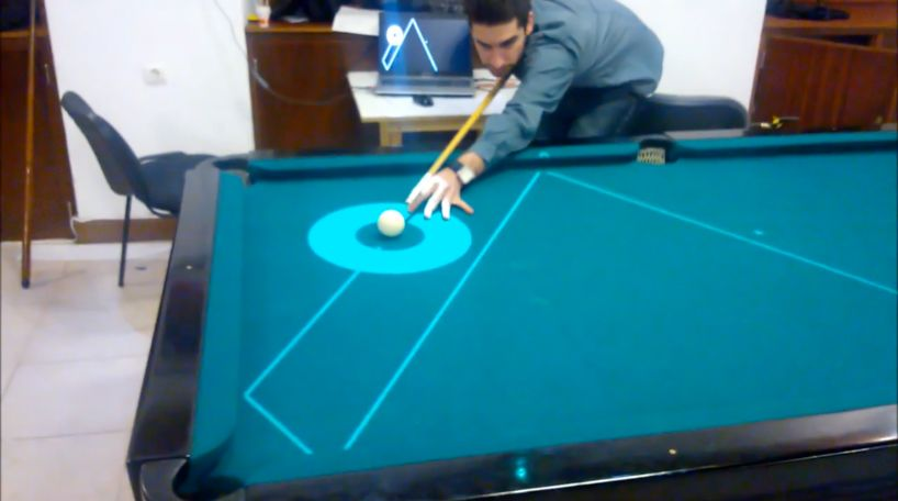 Augmented reality laser guides for playing pool | imagcwp journal.
