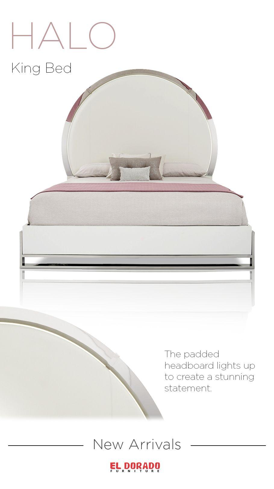 Halo King Bed New Arrivals King Platform Bed Bedroom Furniture Sets Furniture