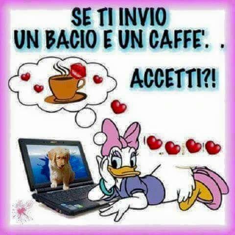 CAFFE PRONTO GIF - GIF GRAZIE.. BACI.. BUONGIORNO ...