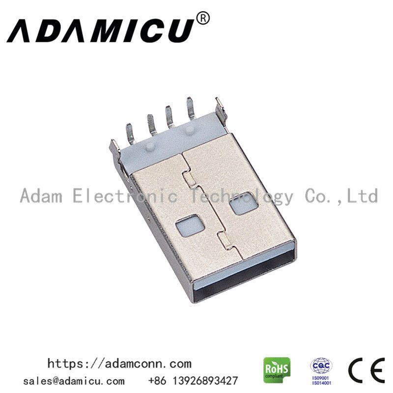 Usb 2 0 Type A Male Usb Type A Plug Connector With 4 Pin Usb Type A Usb Connector